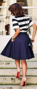 navy ladylike