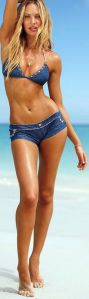 candace jeans bikini