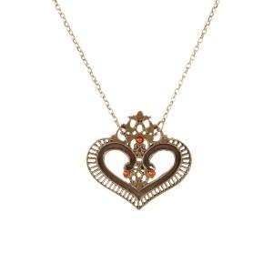colar-vintage-heart-ouro-velho