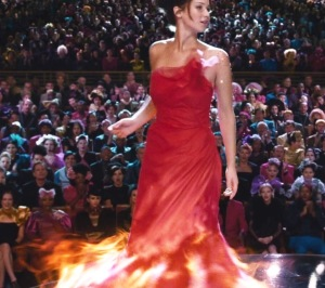 Sculpting 02 - Girl on Fire (Katniss Everdeen)